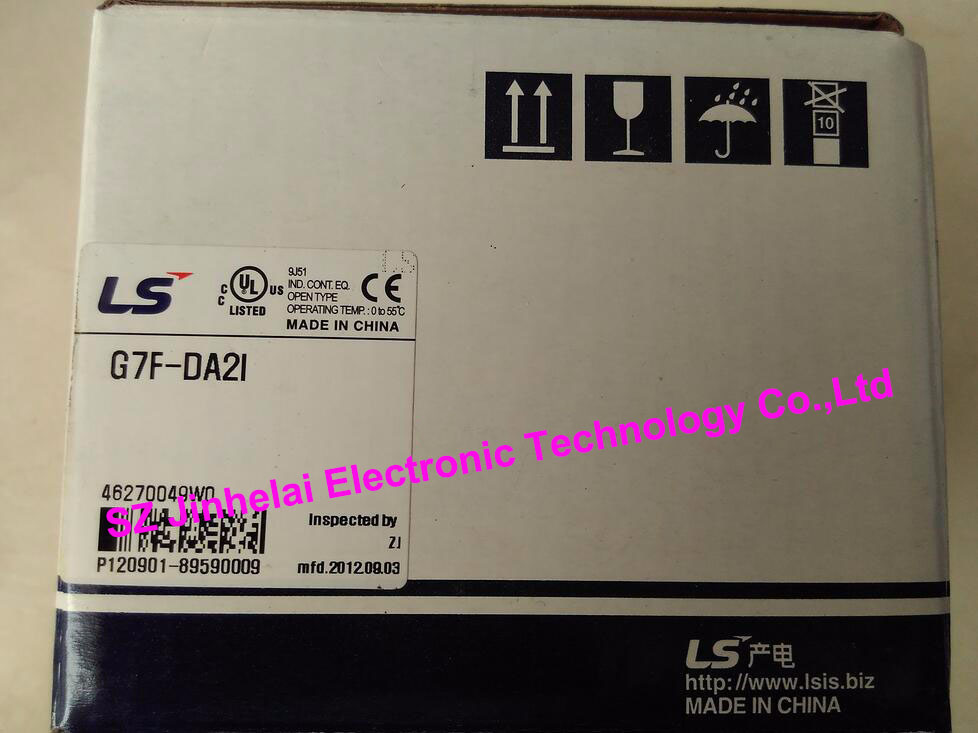 100% New and original G7F-DA2I  LS(LG)   PLC controller литой диск replica ls ty2 7 5x17 6x139 7 d106 2 et25 gmf