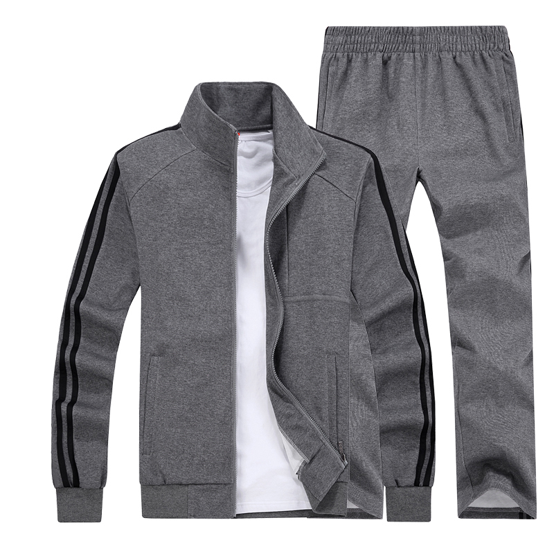 Big Size 5XL 6XL 7XL 8XL Men Sports Suits Fitness Sportswear Keep Warm Gym Clothing Knitted Fabric Running Jogging Sets men sport suit autumn winter big size 6xl 7xl 8xl warm knitted tracksuits printing design male fitness jogging running sets