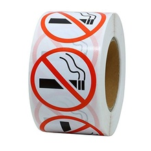 No Smoking Logo Warning kids wall Stickers 1