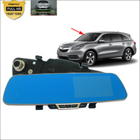 For Acura Mdx Tsx Rdx Tl Rl Rsx Car DVR Blue Screen Rearview Mirror Video Recorder