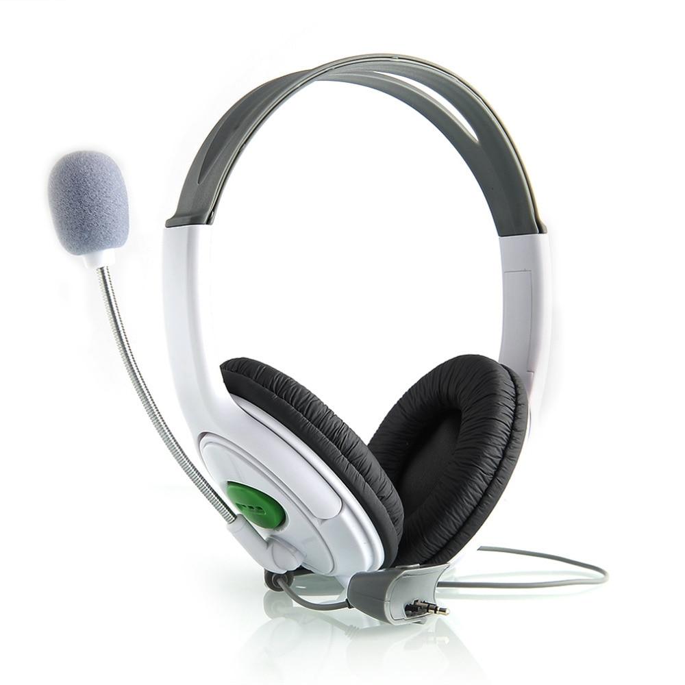 High Quality Live Big Headset Headphone With Microphone for XBOX 360 Xbox360 Slim NEW Arrival Gaming Headsets White/Black elikor эпсилон 60 медный антик золото