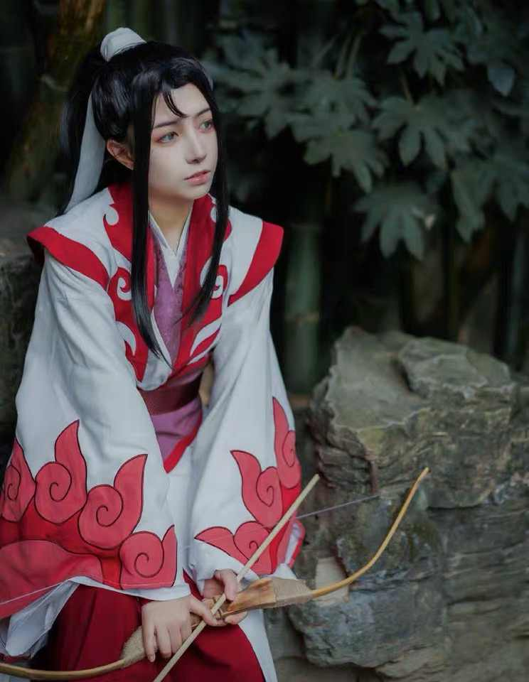 Mo Dao Zu Shi Wen Ning Cosplay Costume Grandmaster of Demonic Cultivation Custom Made Full Set 2 Style Costume