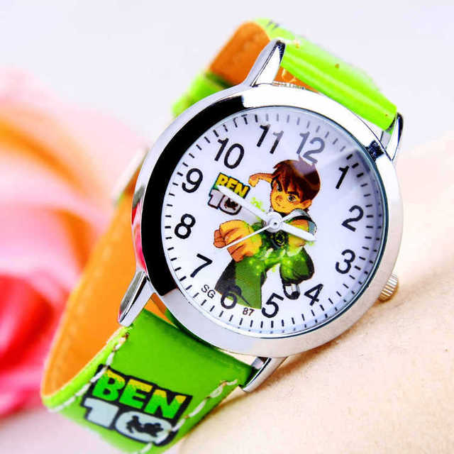 Hot Sale New Fashion Cute Cartoon Children Watches For Boys Kids Quartz Cool Spo