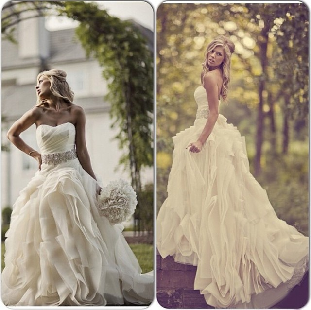 Vestido de casamento outdoor country western wedding for Wedding dresses for outdoor country wedding