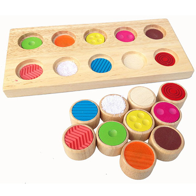 Kids Early Learning Educational Toy Montessori Sensory ...