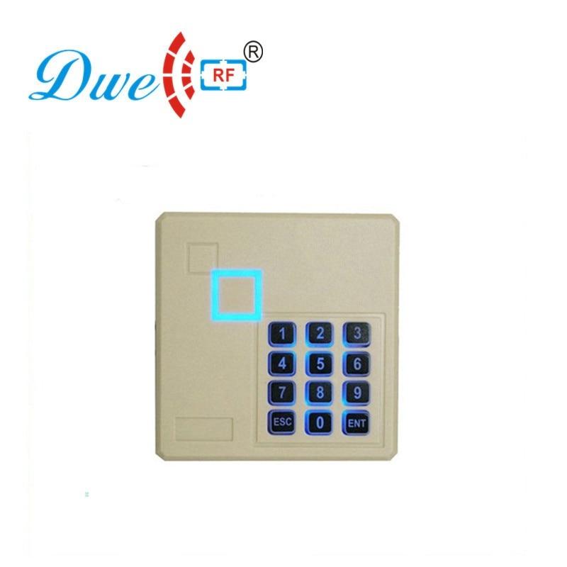 DWE CC RF Free Shipping Backlight Keypad 125khz  EM -ID+  Weigand 26 Rfid Reader Door  Access Control  +proximity Card Reader