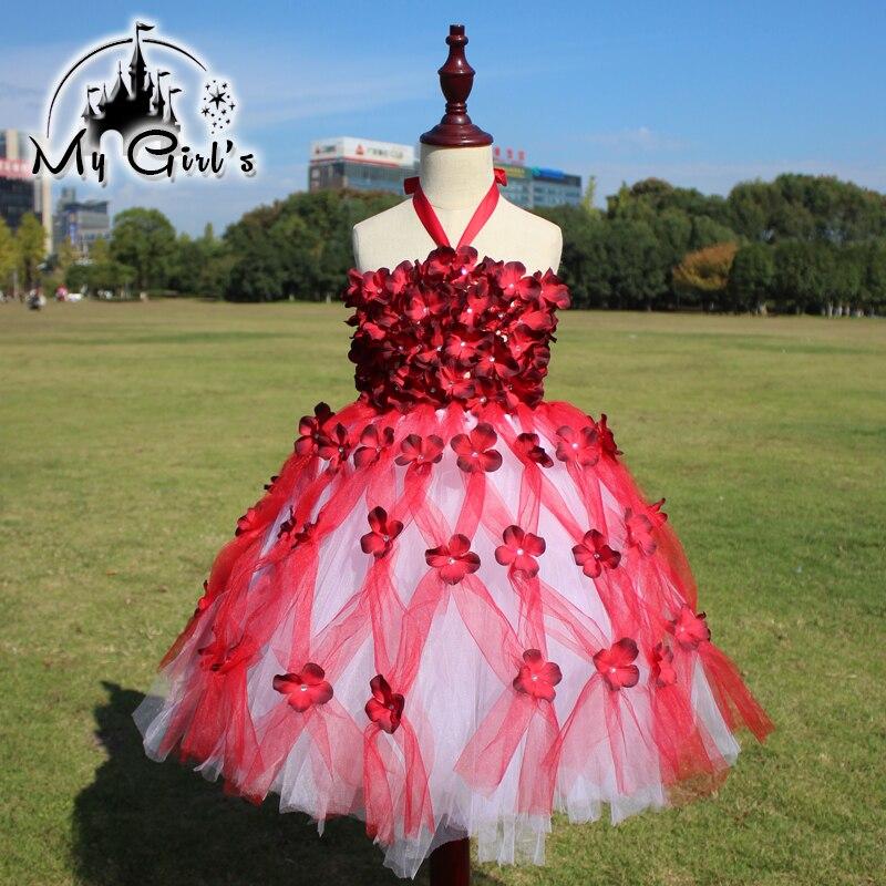 2016 Rosa princesa de tul vestidos de noche Nuevo estilo Europeo del ...