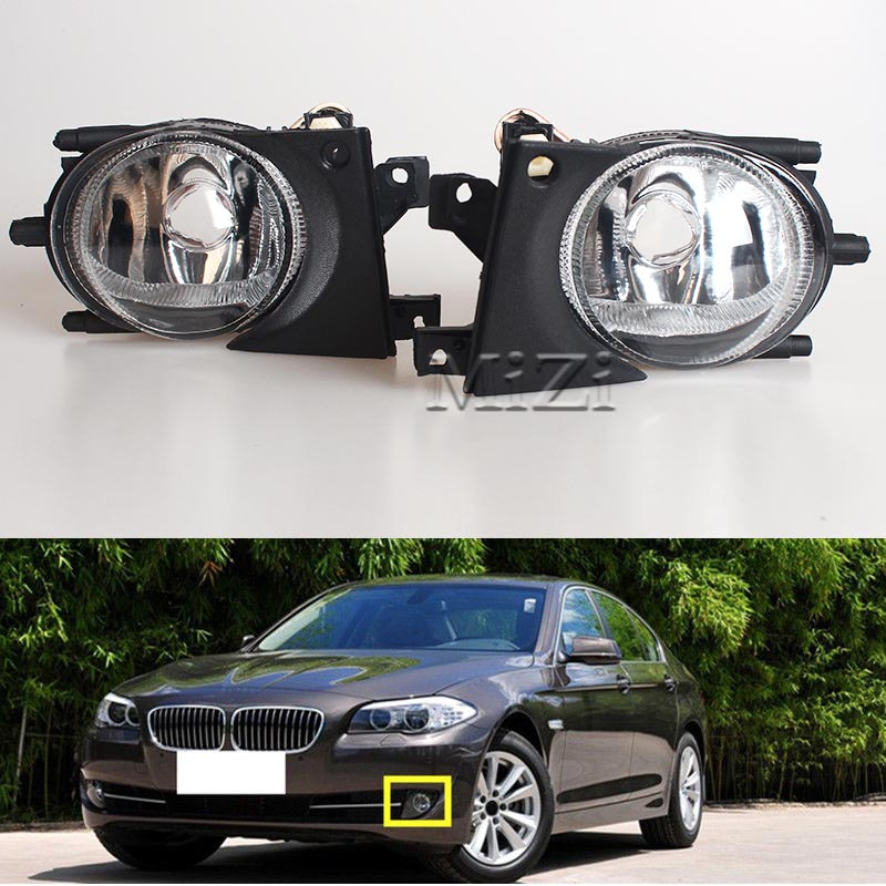 1 Pair Left & Right Front Fog Light Without Bulbs Replacement Kit for BMW E39 for BMW Fog Lights Lamp 1999-2004 2pcs right left fog light lamp for b mw e39 5 series 528i 540i 535i 1997 2000 e36 z3 2001 63178360575 63178360576