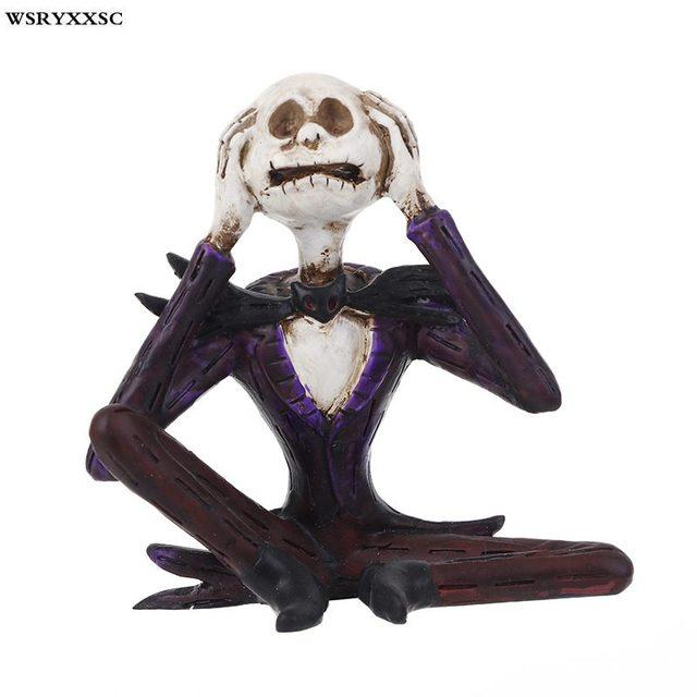 Skeleton Villain Decoration, Halloween Skull, Resin Crafts, Halloween  Gifts, Creative Jewelry,