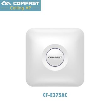 COMFAST CF-E375AC indoor wireless router 1300M Ceiling AP openwrt WiFi Access Point AP 4dbi antenna 48vpoe wifi signal amplifier