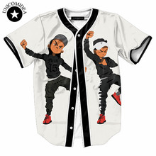 Фирменное отпечатано camisa masculina аниме slim fit коротким рубашка рубашки повседневная