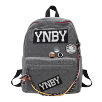 Brand Designed Harajuku Backpack Women School Backpack Vintage Youth Schoolbag Male Casual Sac A Dos Back