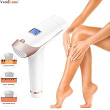 Dispositivo de depilación permanente láser IPL con pantalla LCD, dispositivo eléctrico sin dolor para el hogar, depiladora láser para mujeres y hombres