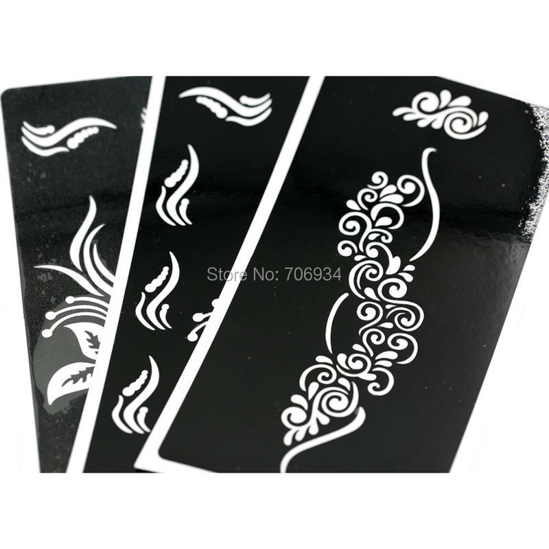 f stencils for panting paper 24pcs lot tattoo template glitter tattoo stencil waterproof 6 8 3 4. Black Bedroom Furniture Sets. Home Design Ideas