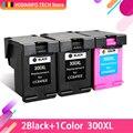 QSYRAINBOW совместимые 300XL восстановленные чернильные картриджи для HP 300 для hp300 для Deskjet D1660 D2560 D2660 D5560 F2420 F2480 F