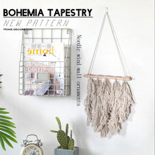 Hand-woven Bohemian Braided Tapestry Wall Hanging Fashion Decorative Beautiful Home Geometric Art Decoration