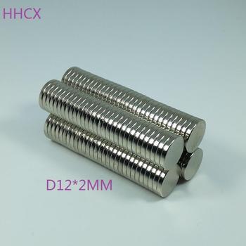 1000pcs/lot D 12x2 mm N35 Strong Disc NdFeB Rare Earth Magnet 12*2 mm Neodymium Magnets 12MM X 2MM