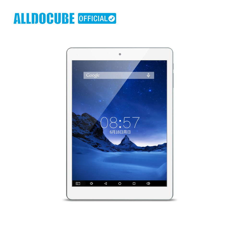 ALLDOCUBE iplay8 7,85 дюймов MTK MT8163 4 ядра 768*1024 ips Android6.0 1 ГБ 16 планшеты PC Двойной Wi Fi 2,4 г/5 г Micro HDMI gps Новый