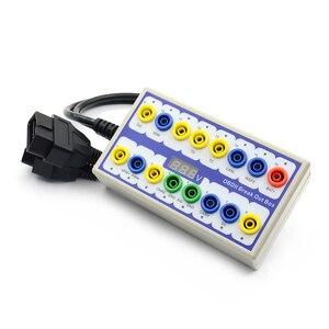 Image 4 - Новинка, автомобильный детектор OBD 2, пробойник OBD2, протокол OBDII, диагностический детектор разъема