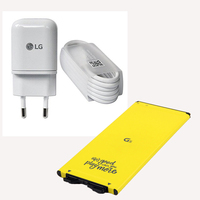 Original LG EU Plug Fast Travel Wall Charger Type C USB Date Cable For LG G5