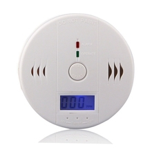 5PCS AA Battery Independent Carbon Monoxide Detector 85Db Warning Test CO Gas Leak Detector For Home Alarm System