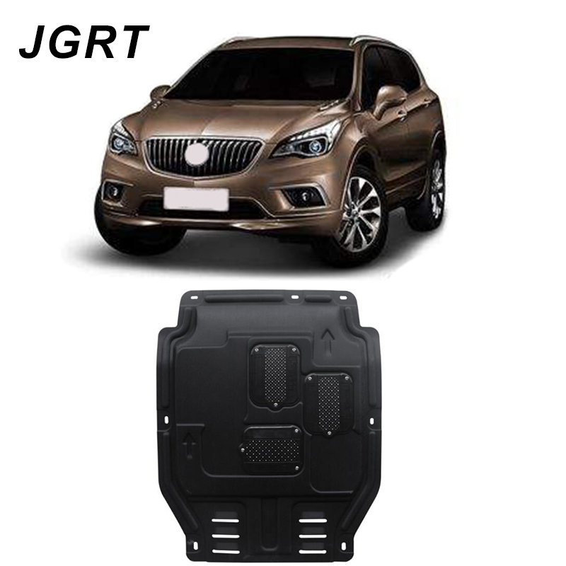 Car styling For Buick Envision plastic steel engine guard For Envision 2016-2018 Engine skid plate fender 1pcCar styling For Buick Envision plastic steel engine guard For Envision 2016-2018 Engine skid plate fender 1pc