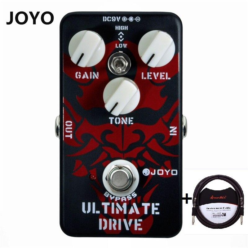 joyo high gain overdrive electric guitar effect pedal vintage overdrive digital delay crunch. Black Bedroom Furniture Sets. Home Design Ideas