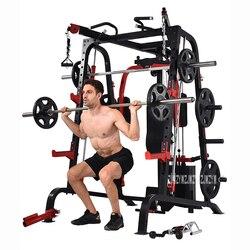 9010DE كبيرة متكاملة أجهزة لياقة بدنية شاملة اللياقة البدنية ممارسة متعددة الوظائف معدات بناء الجسم سحب ما يصل الحديد