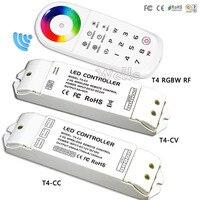 T4-CV приемника; светодио дный контроллер RGBW T4 2,4 г удаленного 8 зон Беспроводной синхронизации/зоны контроллер RGBW для RGBW светодио дный полосы