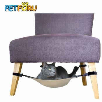Petforu cat hammock Warm Soft Hanging Bed Cat Mat Kitten bed Pad Pet Cat Bed for Small Dog Puppy