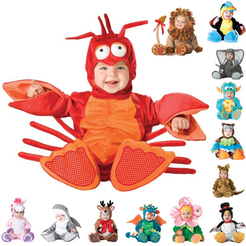New Arrival High Quality Baby Boys Girls Halloween Dinosaur Costume   Romper   Kids Clothing Set Toddler kigurumi Triceratops