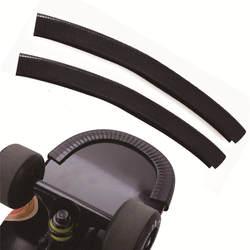Скейтборд колоды охранников протектор канала U дизайн резиновая и Сталь модные бамперы Bump Longboard танец доска аварии резиновые прокладки