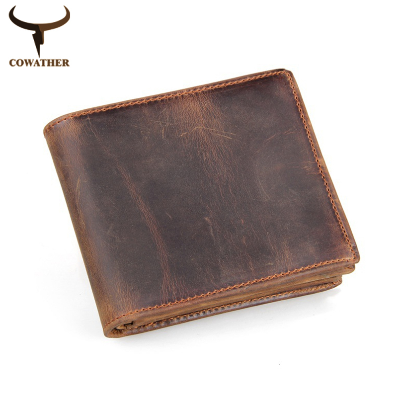 100% top quality cow genuine leather mens