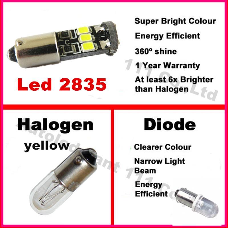 Saab 9000 239 C5W Green Interior Boot Bulb LED High Power Light Upgrade