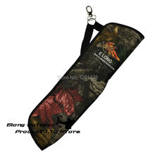 FREE SHIPPING 1 Pc Camo Arrow Quiver for Hunting Archery shooting outdoor