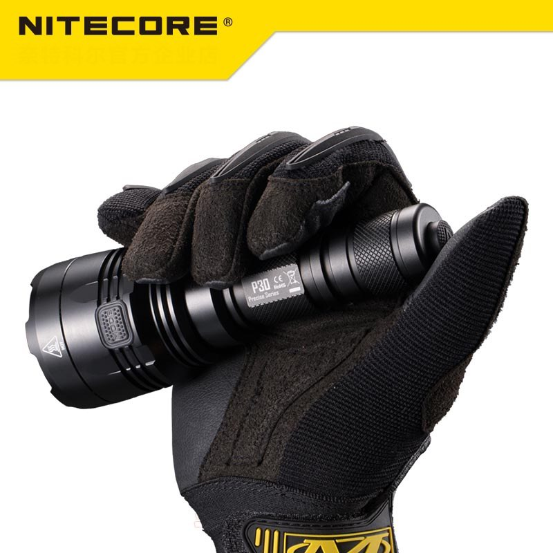 Image 3 - NEW Nitecore P30 Tactical Flashlight 1000 Lm CREE XP L HI LED Waterproof 18650 Outdoor Camping Hunting Portable Torch-in Portable Lighting Accessories from Lights & Lighting