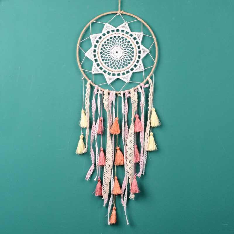 2018 New Gradient Tassel Dream catcher Pendant wall hanging for home/garden/wedding decoration as gift