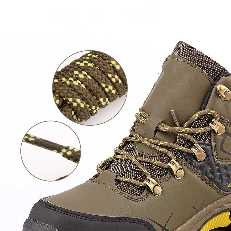 1 çift 5MM Ayakabı Ayakkabı Danteller Sneakers Spor Açık dağ tırmanışı Ayakkabıları 100 cm/120 cm