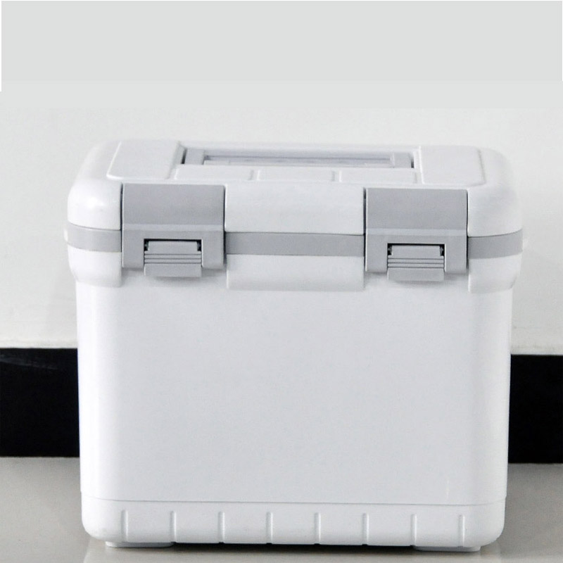 6L Outdoor Plastic Vaccine Transport Cooler Box With Temperature Display Work 48 Hrs