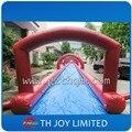 60*3 m slip n slide tobogán inflable de la ciudad