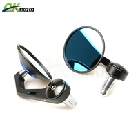 For honda CAFE RACER YZ450F CRF230F VFR800 CB1000R GROM 125/MSX125 CB400 Motorcycles Accessories Rearview Mirrors Side Mirror