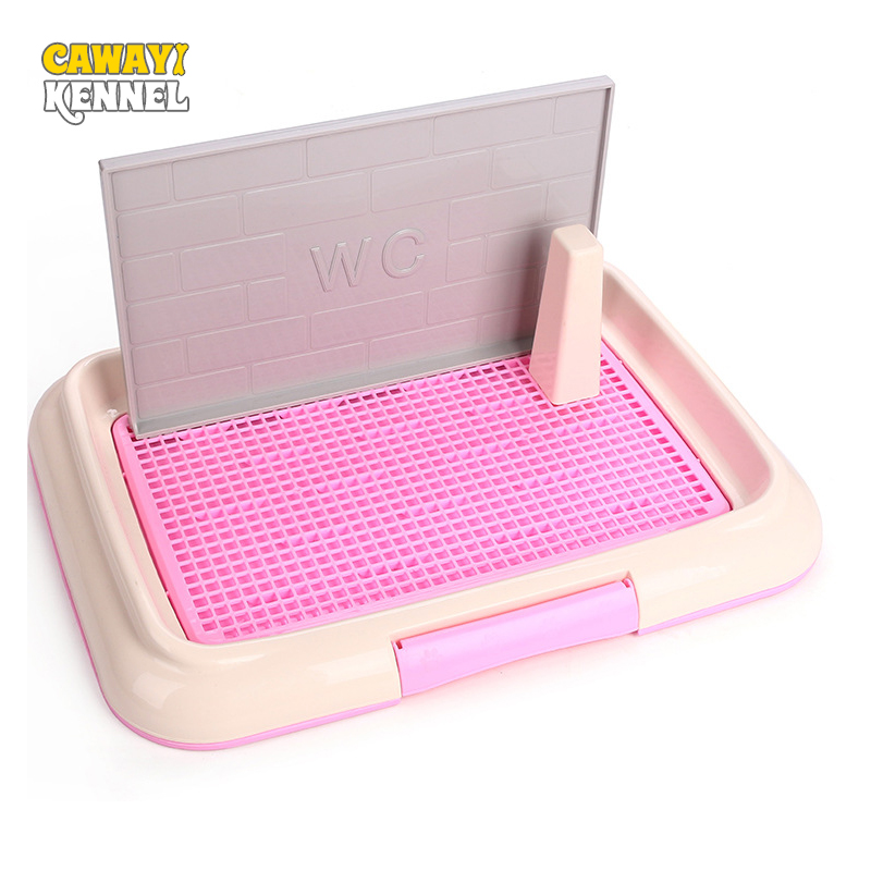 cawayi-kennel-plastic-pet-toilet-detachable-male-dog-urinal-indoor-toilet-training-pad-toilet-box-tray-for-dog-pet-potty-d1550