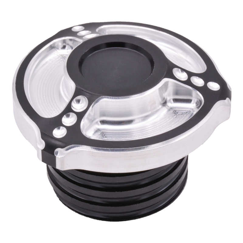 Motorcycle CNC Fuel Tank Gas Cap ROUGH CRAFTS Oil Cap Cover For Harley Sportster XL 883 1200 1996-up , Motorcycle Styling