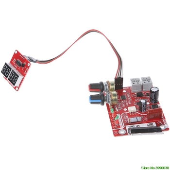 Placa de Control de tiempo de soldadura de punto a controlador de corriente de actualización con pantalla Digital