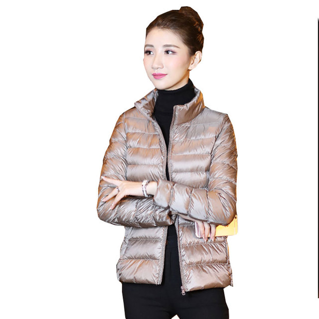 Plus size winter short Down jacket Women Ultralight Duck Jackets 2018 New Parkas Fashion female Waterproof Warm tops Coat 60