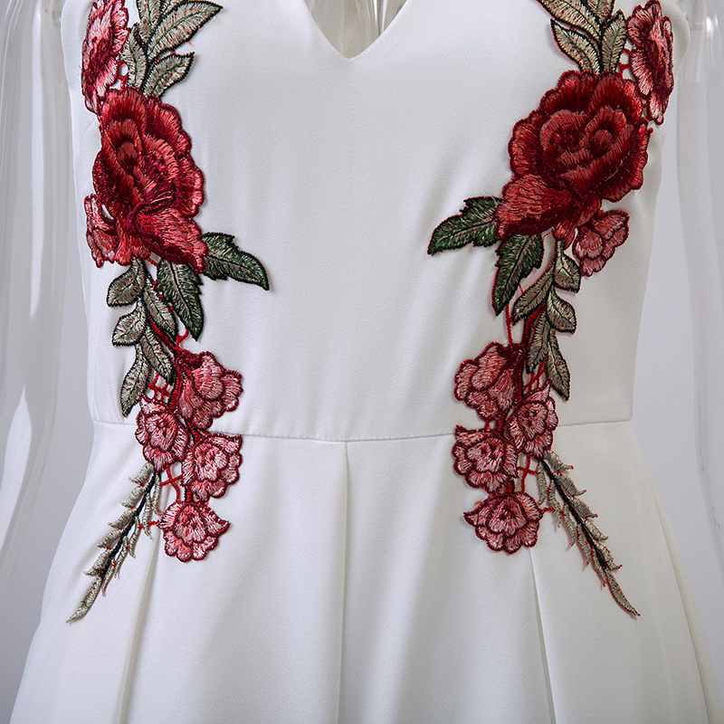 HTB1wZSEOpXXXXXyaFXXq6xXFXXXf - V Neck Rose Embroidery Women Playsuits Sleeveless White Winter Rompers Jumpsuits Casual Beach PTC 303