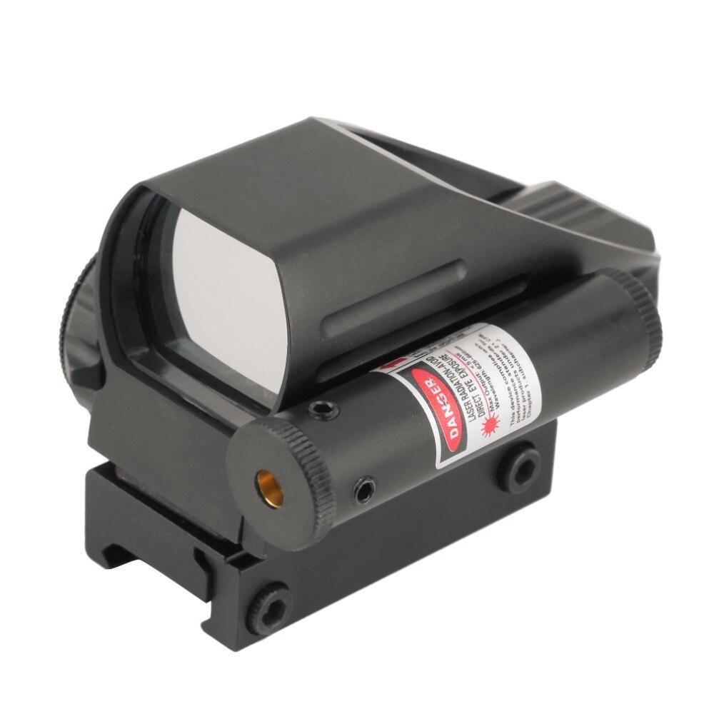 Táctico holográfico rojo reflejo/Verde punto alcance 4 retícula y láser rojo envío de la gota
