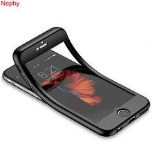 Роскошный 360 Полный Чехол для iPhone XS Max XR X 6 S 6 S 5 5S 7 8 Plus 6Plus 7Plus 8 Plus, чехол для сотового телефона, мягкий силиконовый чехол-бампер