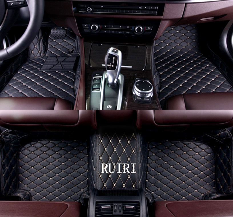 Best quality! Custom special floor mats for Audi A4 Sedan B9 2018 wear-resisting Easy to clean carpets for A4 2017,Free shipping