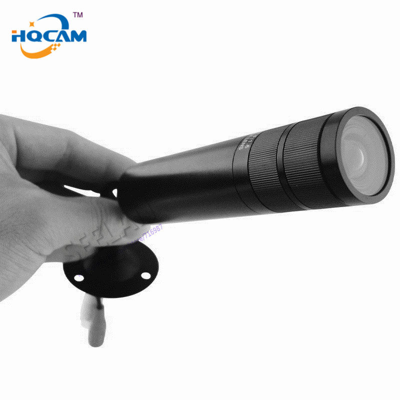 HQCAM 1/3 Sony CCD 480TVL Color Mini Bullet camera Mini Bullet Outdoor Waterproof Security Camera 4-9mm Waterproof Varifocal hqcam 700tvl sony ccd nextchip 2090 osd menu mini bullet camera mini ccd outdoor waterproof 2 8mm cctv security camera for 960h